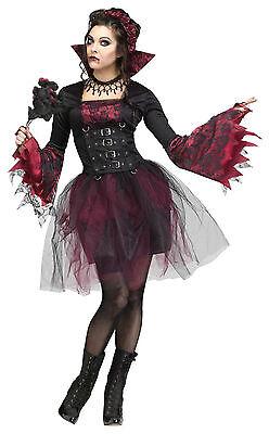 Goth Rose Vampira - Adult Vampire Costume - Gothic Vampira Costume