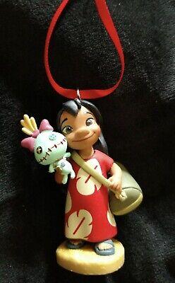 New Disney Lilo and Stitch-Lilo and Scrump Christmas Ornament