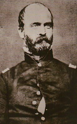 General Lewis Addison Armistead  Confederate Army    Civil War Military Postcard