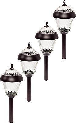 4 Pack GreenLighting Remington Bronze High Lumen Garden Sola