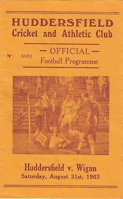 Huddersfield v Wigan 1963/4 (31 Aug)