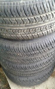marshal 15 in tires like new tread on ford rims fit mazda also