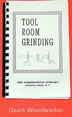How To Do Tool Room Grinding Techniques Book Lathemillcutterstapsdrills 0903