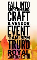 Fall into September Craft and Vendor Event