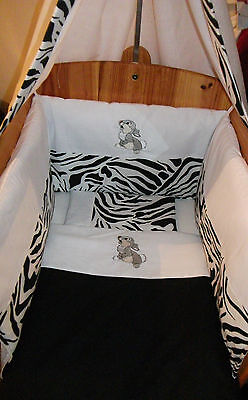 Beautiful Personalised Bespoke Bambi Thumper Crib Cot Cotbed Bumper Set Any Col