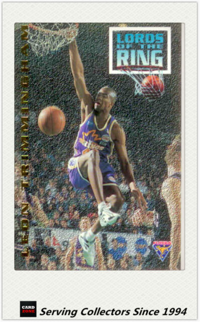 1994 Australia Basketball Card NBL Series 2 Lord Of The Ring LR12--Trimmingham