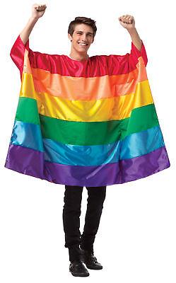 Flag Tunika Rainbow Erwachsene Herren Halloween Kostüm Rasta Imposta