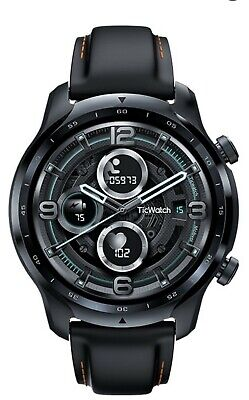 TicWatch Pro 3 GPS 47mm Stainless Steel Case with Silicone Strap Smart watch