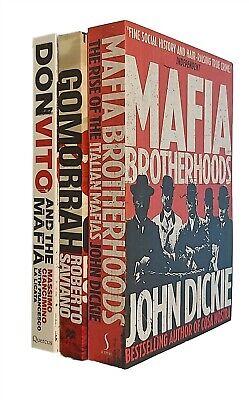 Mafia 3 Books Cosa Nostra Brotherhoods Don Vito John Dickie Ciancimino New