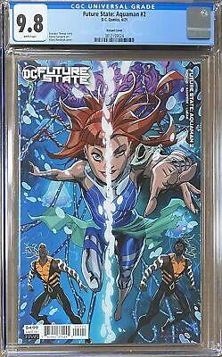 Future State: Aquaman #2 Variant CGC 9.8