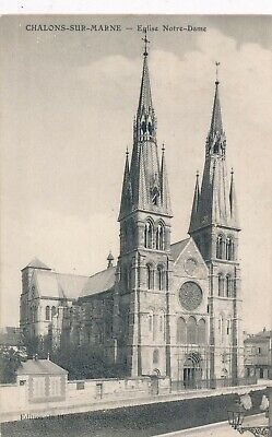 CPA - France - (51) Marne - Chalons-sur-Marne - Eglise Notre-Dame