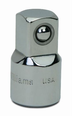 38drive-12drive Adaptor With High Polished Chrome Finish Williamsusa Bs-130