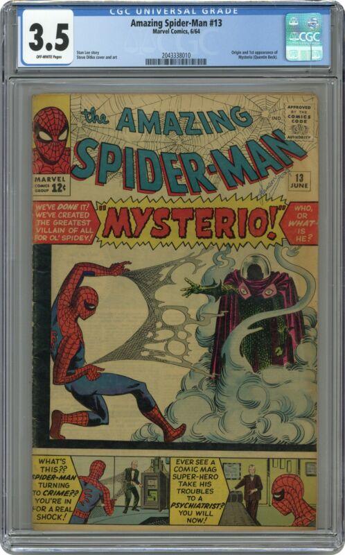 Amazing Spider-Man #13 CGC 3.5 1964 2043338010 1st app. Mysterio