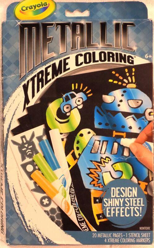 Crayola Metallic Extreme Coloring Kit