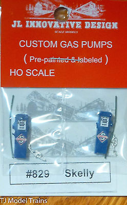 NEW PEEL AND STICK HO SCALE SKELLY GAS STATION TANKER TRUCK MODEL DECALS HOSG10