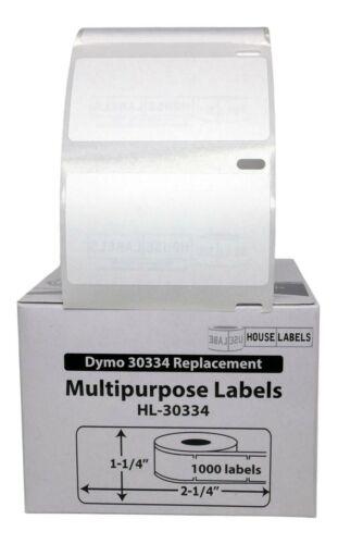 DYMO LW 30334 Medium Multipurpose Labels - (1) Roll of 1000 - FREE & FAST SHIP