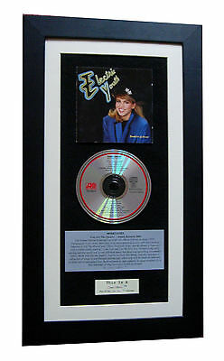DEBBIE GIBSON Electric Youth CLASSIC CD Album QUALITY FRAMED+EXPRESS GLOBAL SHIP