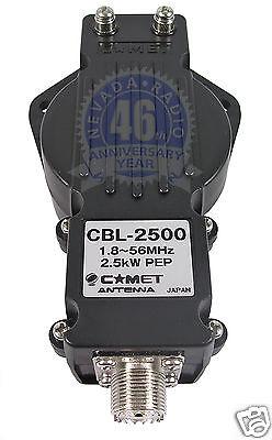Comet CBL-2500 high power 2.5Kw 1:1 Balun 1-56MHz