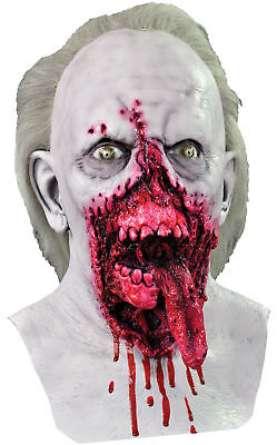 Day Of The Dead Themed Halloween Party (Day of the Dead Doctor Tongue Adult Mask Bloody Horror Theme Party)