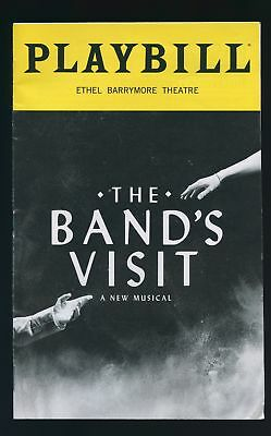 Playbill   The Bands Visit   July 2018   David Cromer   Erin Kolirin