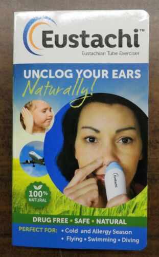 Eustachi Eustachian Tube  Exerciser Unclog Ears 100% Naturally.Brand New In BOX