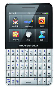 New Motorola EX223 Unlocked GSM Phone Dual SIM Touchscreen QWERTY 3.2MP Camera