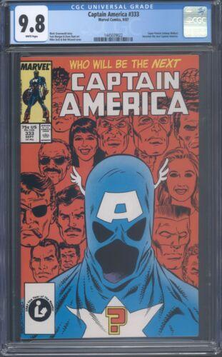 Captain America 333 CGC 9.8 1st App John Walker as Captain America