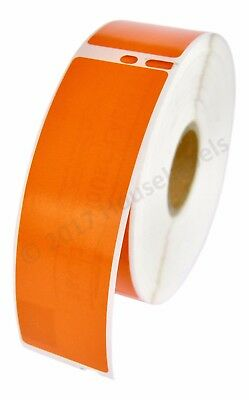 1 Roll Of 350 Orange Address Labels For Dymo Labelwriters Lw 30252  Fast Ship