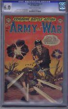 Our Army at War # 1 DC Pub 1952 CGC 6.0 (FINE)
