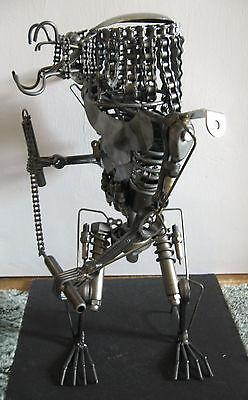 Scrap Metal Predator Sculpture 18