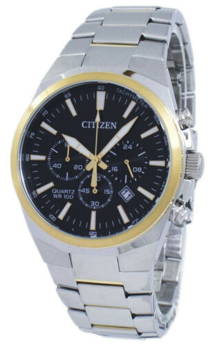 BRAND NEW Citizen Chronograph Tachymeter Quartz AN8174-58E Men