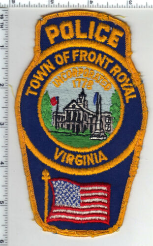 Town of Front Royal Police (Virginia) Uniform Take-Off Shoulder Patch
