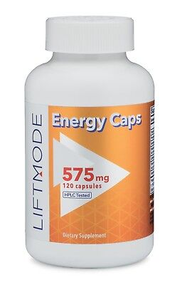 Liftmode All Natural Energy Booster Capsules - 120-count | Best Stimulant