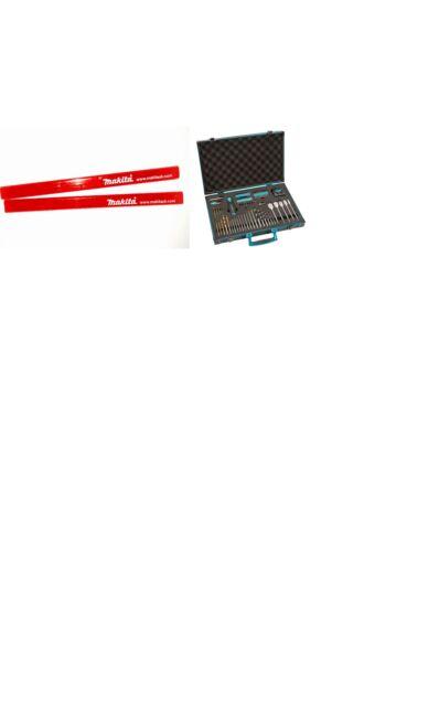 Makita 70 Piece Pro XL Drill Bit & Accessory Set Aluminium Case with 2 Pencils