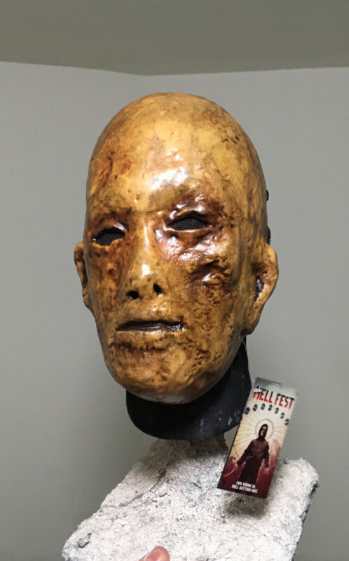 Hell Fest Mask Rehauled Custom Jason Myers Mask