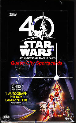 2017 Topps Star Wars 40th Anniversary Factory Sealed Hobby Box