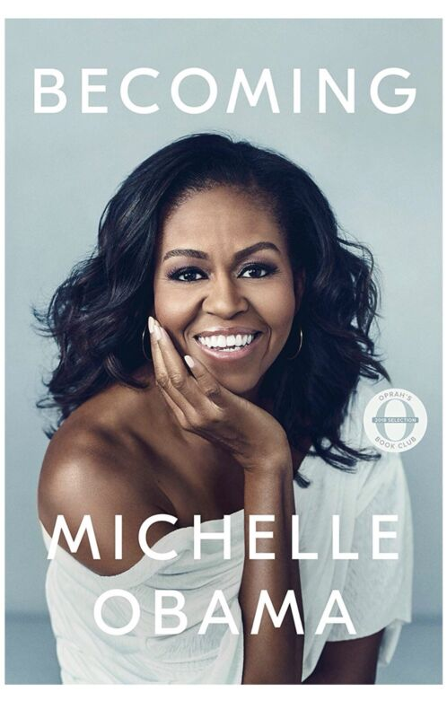 Becoming by Michelle Obama Hardcover (FREE 2 DAY SHIPPING)