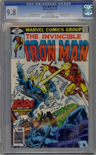 Iron Man 124 CGC 9.8