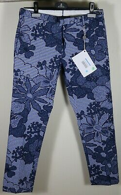 PT01 Ghost Project Flower Print Trousers Size 28 / 44 Brand New Torino