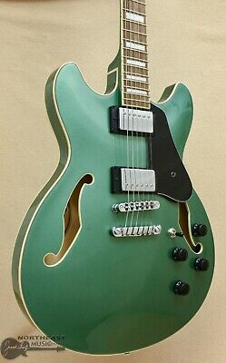 Ibanez Artcore AS73 Semi-Hollow -  Olive Green Metallic for sale  Dickson City