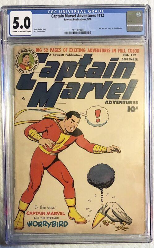 Captain Marvel Adventures #112 CGC 5.0