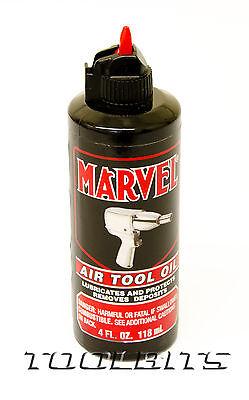 Air tool Oil. Marvel. 4oz. The best!! T619101