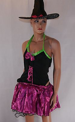Women's Sexy Witch Halloween Fancy Dress Costume Halloween Clearance!