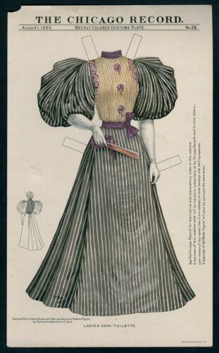 UNCUT #28 Chicago Record Dress (7587)