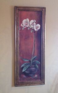 Paintings with orchids