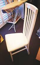 7 x White Dining Chairs Petersham Marrickville Area Preview