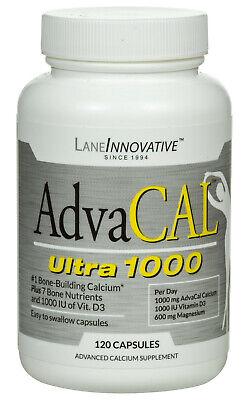 LaneLabs AdvaCAL Ultra 1000: #1 Bone-Building Calcium, K2 + 7 Bone Ingredients*
