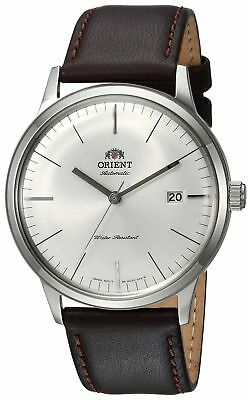 Orient Men's '2nd Gen. Bambino Ver. 3' Japanese Automatic Stainless Steel and...