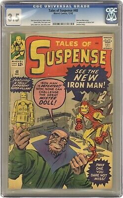 MARVEL COMICS CGC 3.5 1963 NEW IRONMAN OUTFIT CLASSIC (Ironman-outfit)