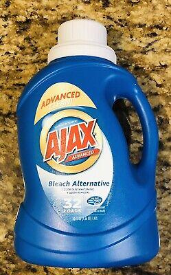 Ajax Laundry Detergent Liquid Bleach Alternative Discontinued Color Safe 50 oz. Bleach Liquid Laundry Detergent